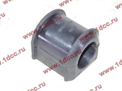 Втулка резиновая для переднего стабилизатора (к балке моста) H2/H3 HOWO (ХОВО) 199100680068 фото 1 Новокузнецк