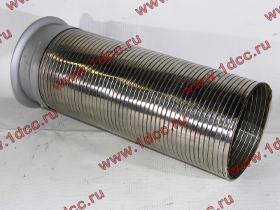 Гофра-труба выхлопная 6х4 с юбкой H2/H3 HOWO (ХОВО) WG9725540053 фото 1 Новокузнецк