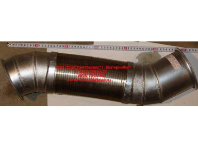 Гофра-труба выхлопная 8х4 d=120 H2/H3 HOWO (ХОВО) WG9731540002 фото 1 Новокузнецк