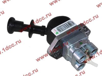 Кран стояночного тормоза в кабину H HOWO (ХОВО) WG9000360165 фото 1 Новокузнецк