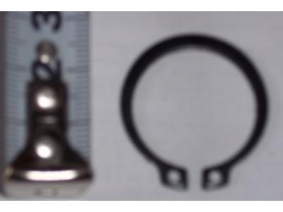 Кольцо стопорное замковое шестерни полуоси H HOWO (ХОВО) 190003933351 фото 1 Новокузнецк