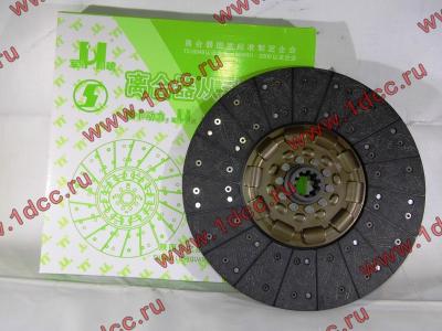 Диск сцепления ведомый 420 мм H2/H3 HOWO (ХОВО) WG1560161130 фото 1 Новокузнецк