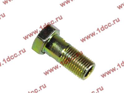 Болт пустотелый М10х1,0 (штуцер топливный) H HOWO (ХОВО) 81500070054 фото 1 Новокузнецк