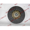 Диск сцепления ведомый 420 мм H2/H3 HOWO (ХОВО) WG1560161130 фото 2 Новокузнецк