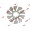 Вентилятор радиатора (на гидромуфту) без кольца d-590 H HOWO (ХОВО) 61500060131 фото 3 Новокузнецк