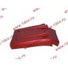 Брызговик передней оси правый H3 красный HOWO (ХОВО) WG1642230104 фото 4 Новокузнецк