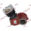 Компрессор пневмотормозов 1 цилиндровый H HOWO (ХОВО) AZ1560130070 фото 4 Новокузнецк