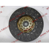 Диск сцепления ведомый 420 мм H2/H3 HOWO (ХОВО) WG1560161130 фото 4 Новокузнецк